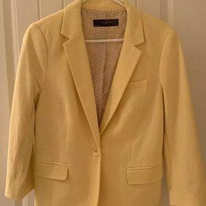 The limited yellow jacket blazer size large Euc